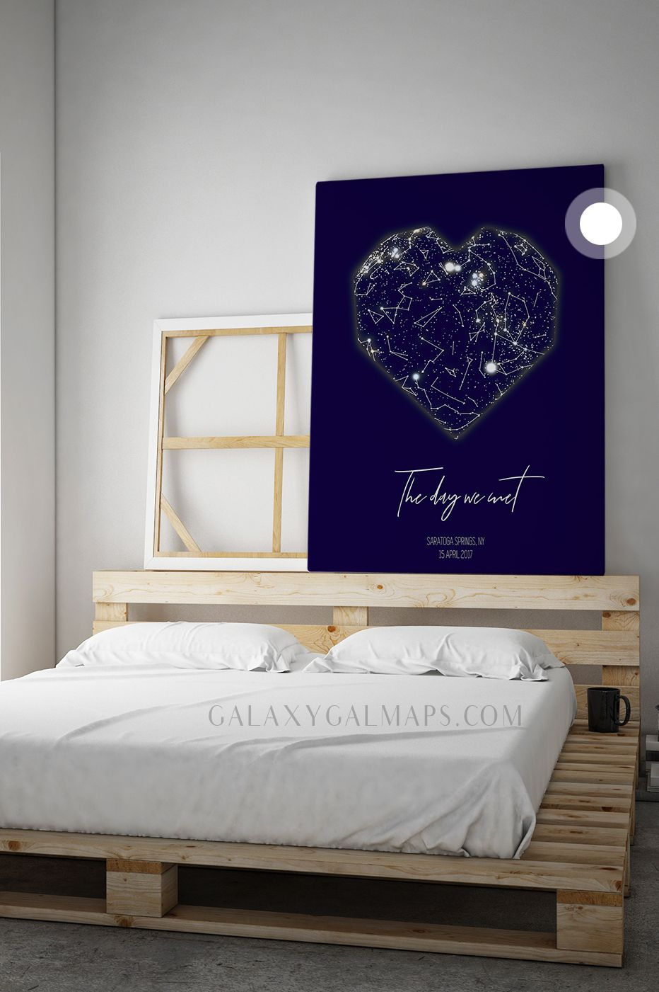 PERSONAL Star Map by DATE and Location Map Art Wall Art