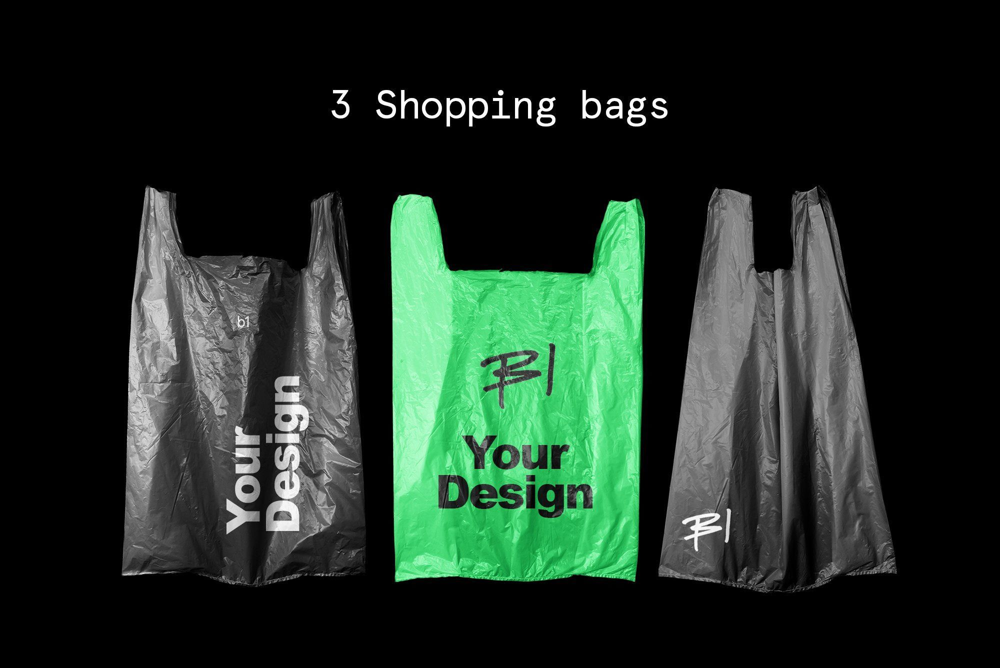 Download Plastic Shopping Bag Mockup Bag Mockup Plastic Shopping Bags Bag Display
