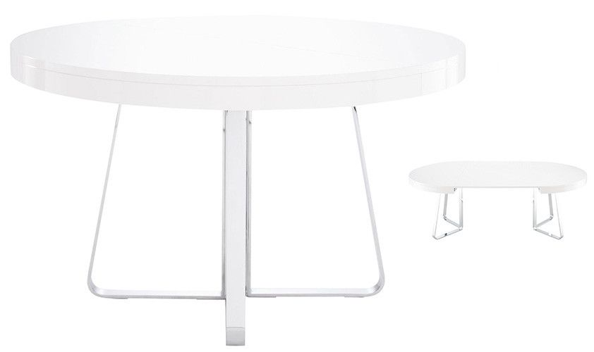 Beautiful Ava Dining Table    Ligne Roset, Designer Thibault Desombre. Tops In Gloss  White Nice Look