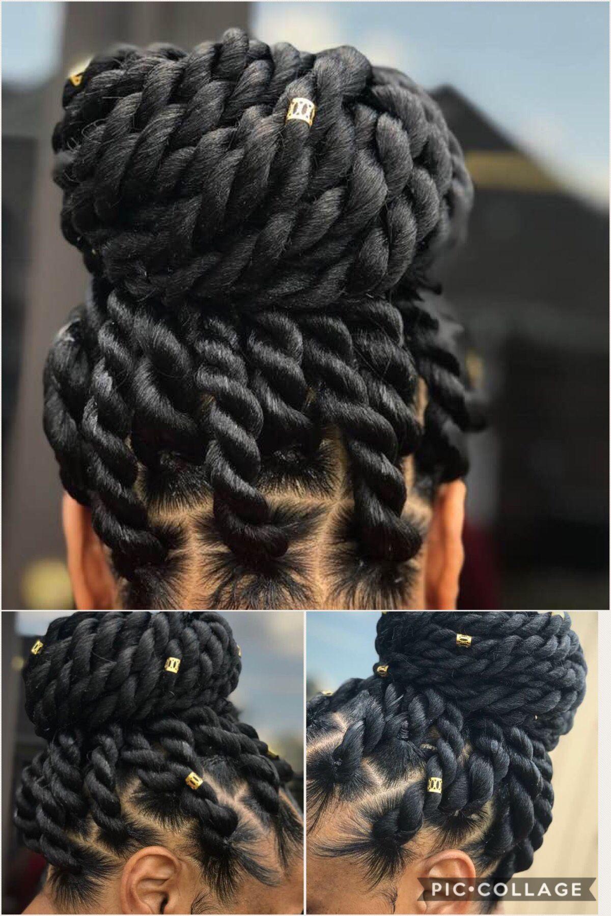 Pinterest Eurodolls African Braids Hairstyles Natural