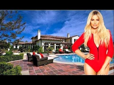 Khloe Kardashian House #khloekardashianhouse Modern Homes Khloe Kardashian's House Tour 2018 #khloekardashian