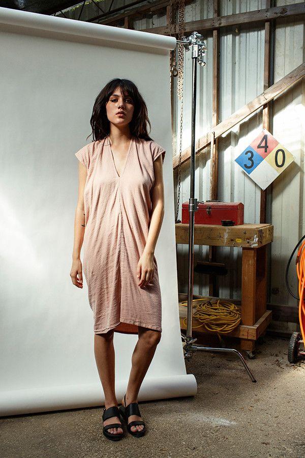 Clay Everyday Dress, Double Gauze | Miranda Bennett Studio