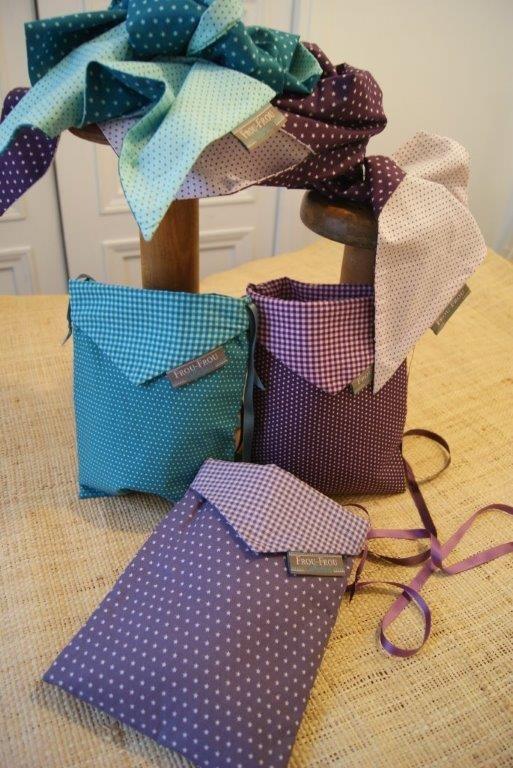 Pochette de sac Frou-Frou - couture - violet bi7XwEtWOD