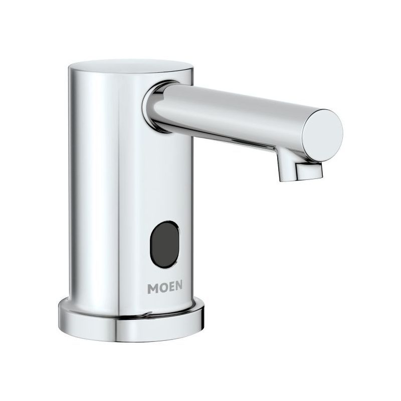 Moen 8560 Mu2013Power Electronic Touchless Soap Dispenser Chrome Commercial  Bathroom Accessories Soap Dispenser Deck