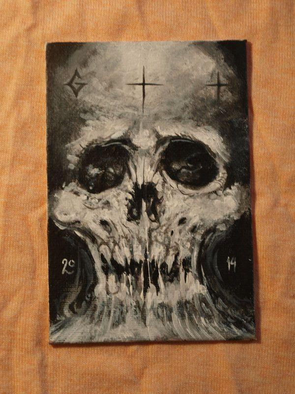 Skull by GTT-ART