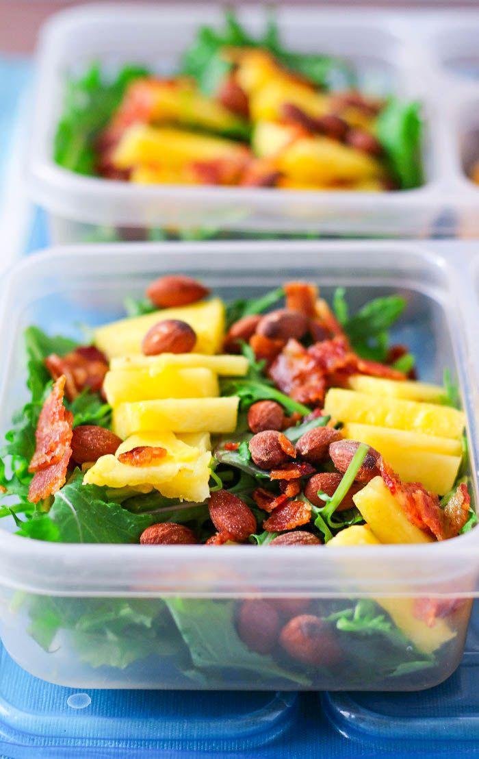 Pineapple Hawaiian Salad Perfect Prep Ahead Lunch Idea
