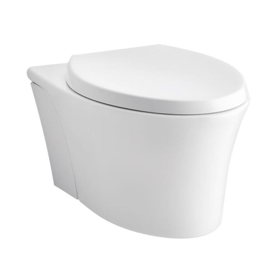 Kohler Veil White Elongated Height Toilet Bowl Toilet Bowl