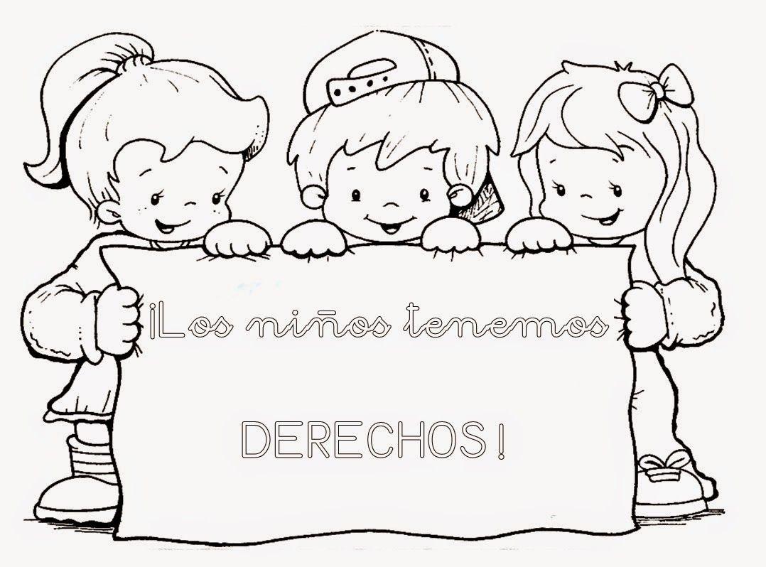 Dibujos Para Colorear 20 Noviembre Preescolar