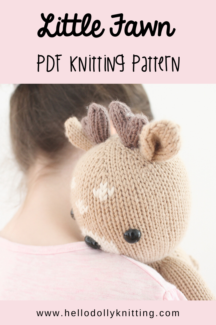 Little Fawn Knitted Toy Pattern