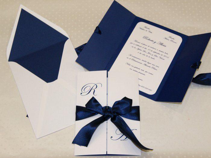44d0b64c7 Invitación de boda - CLÁSICA 4150 Más Invitaciones Para Boda Elegantes