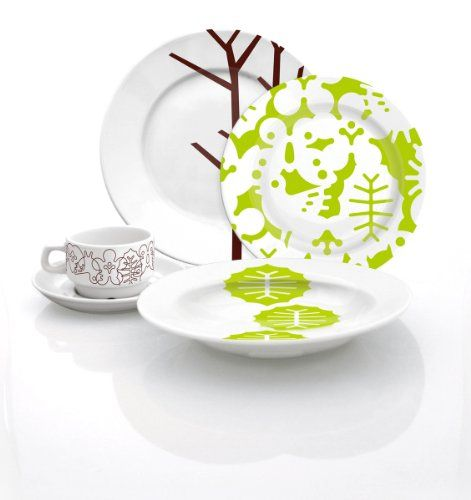 Season 20-Piece Dinnerware Set - http://www.specialdaysgift.com/season-20-piece-dinnerware-set/