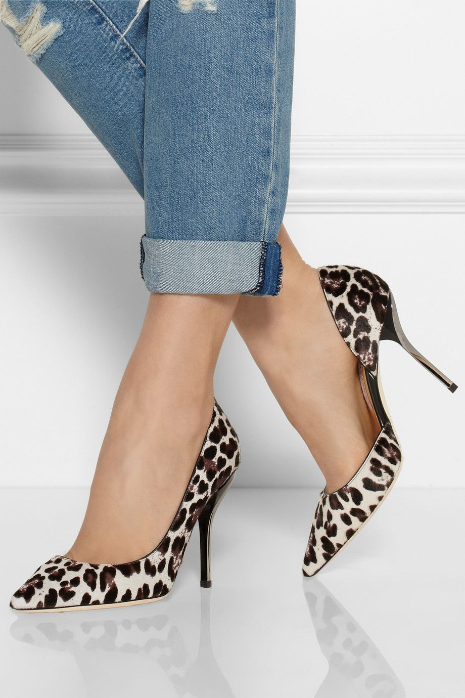 926471ec4315 JIMMY CHOO Willis leopard-print calf hair pumps. Best name EVER ...