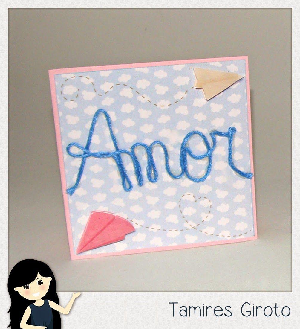 Scrapbook by Tamy- DIY, Coisas fofas e tudo sobre Scrapbook artesanal, híbrido e digital!: Card -In the sky
