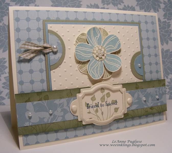 CTD24,Mojo68 Friendship card by LeAnne Pugliese - Cards and Paper Crafts at Splitcoaststampers