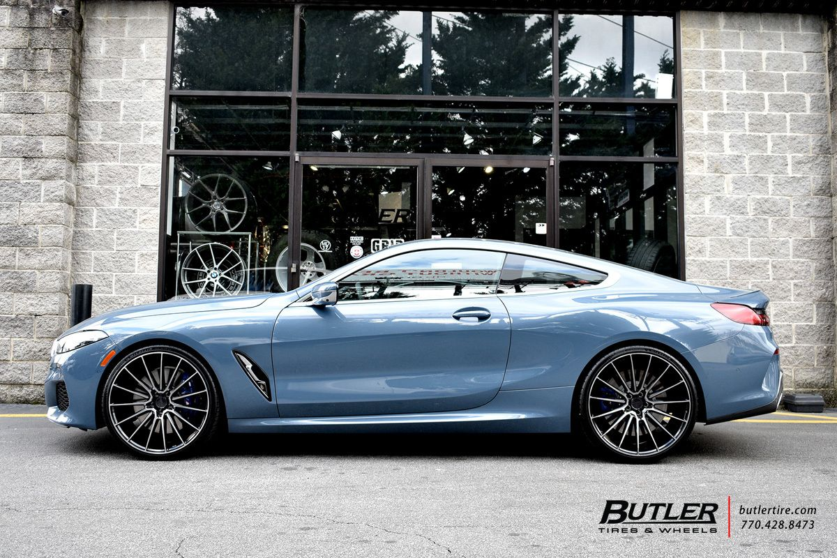 Bmw 850i With 22in Savini Bm16 Wheels Exclusively From Butler Tires And Wheels In Atlanta Ga Bmw Butler Bmw Models