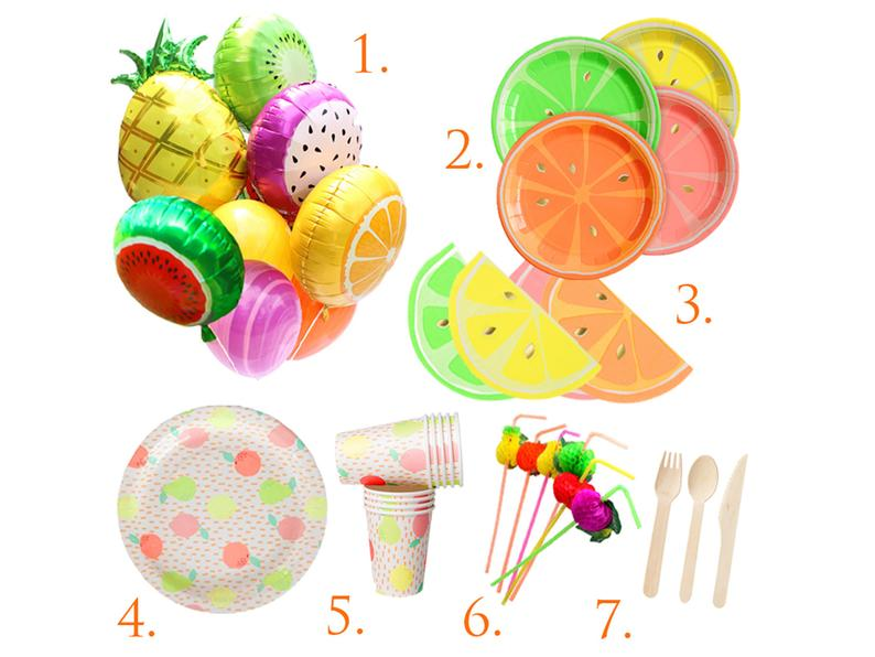 Tutti Frutti Party in a Box for a fruit birthday Two-tti   Etsy