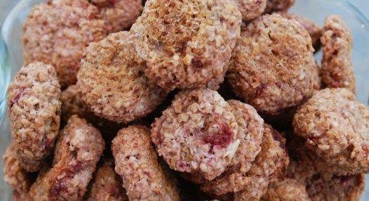 Gluten Free Oatmeal Strawberry Doggie Treats Recipe Lexis Food