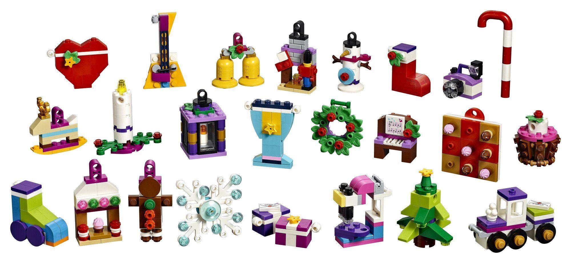 Lego Friends Advent Calendar 41353 New 2018 Edition Small Building Toys Christmas Countdown Calen Lego Advent Calendar Lego Advent Christmas Countdown Calendar