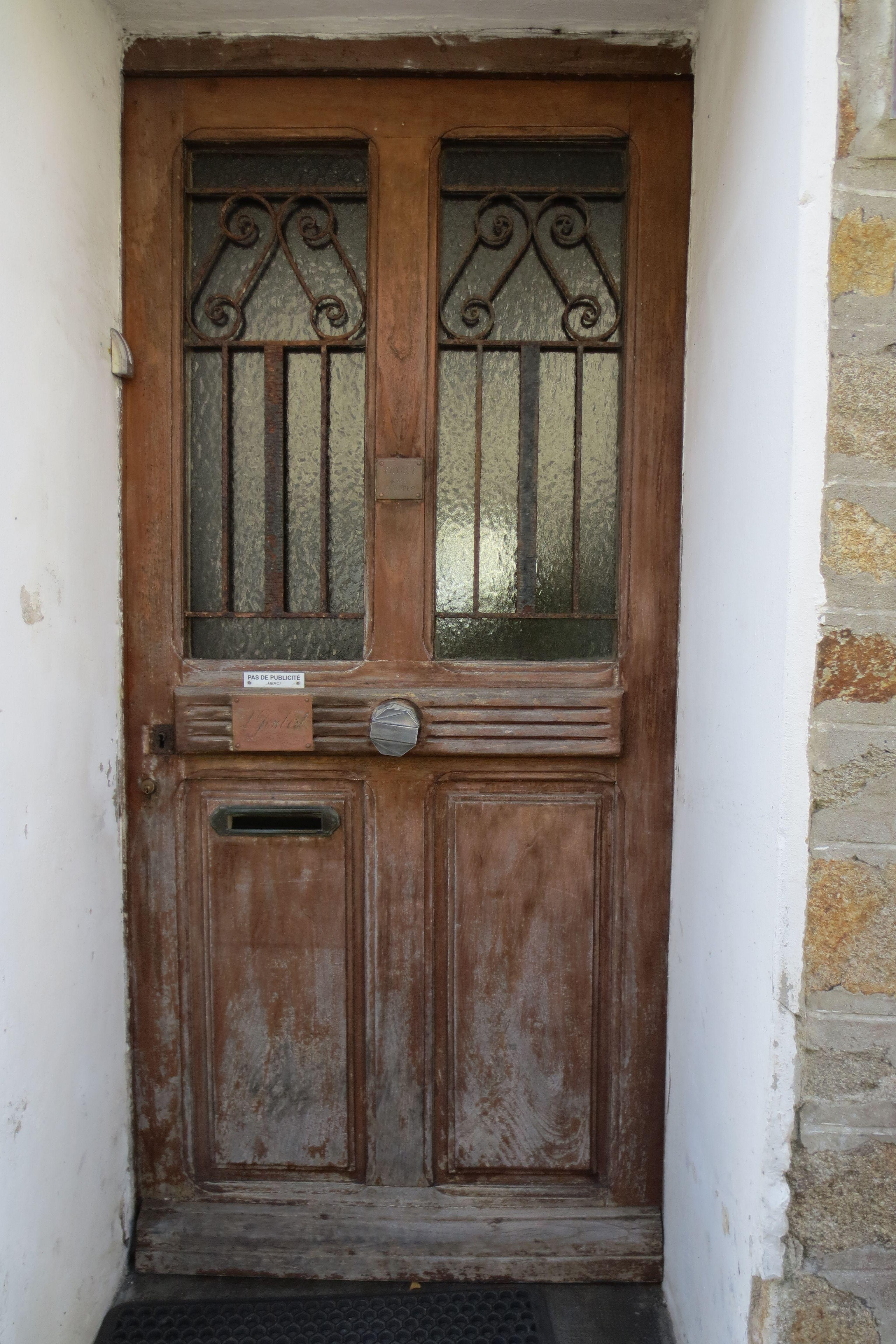 vieille porte d 39 entr e du d but des ann es 1930 portes fen tres pinterest vieilles. Black Bedroom Furniture Sets. Home Design Ideas