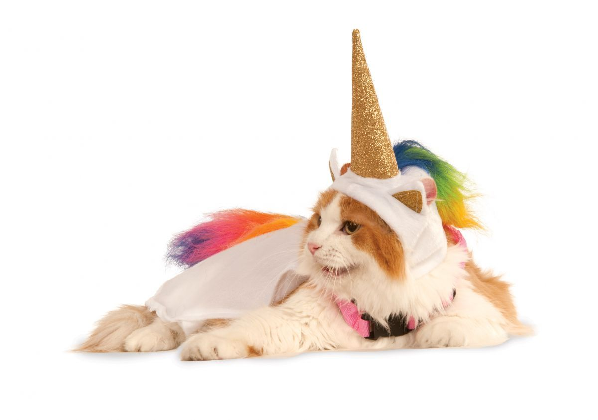 Light Up Unicorn Pet Costume