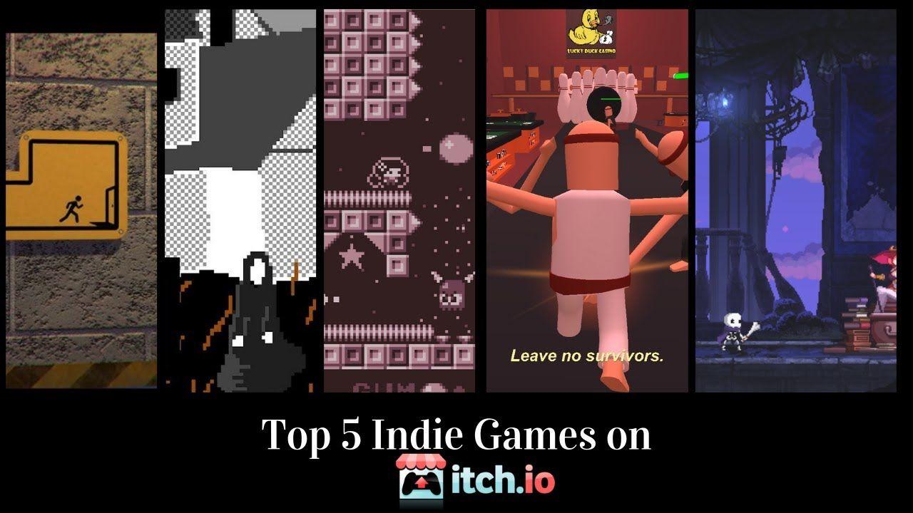 Top 5 Indie Games From Itch Io Indie Games Video Game Reviews Indie