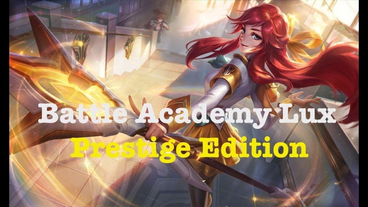 [League of Legends] ç Battle Academy Lux Prestige