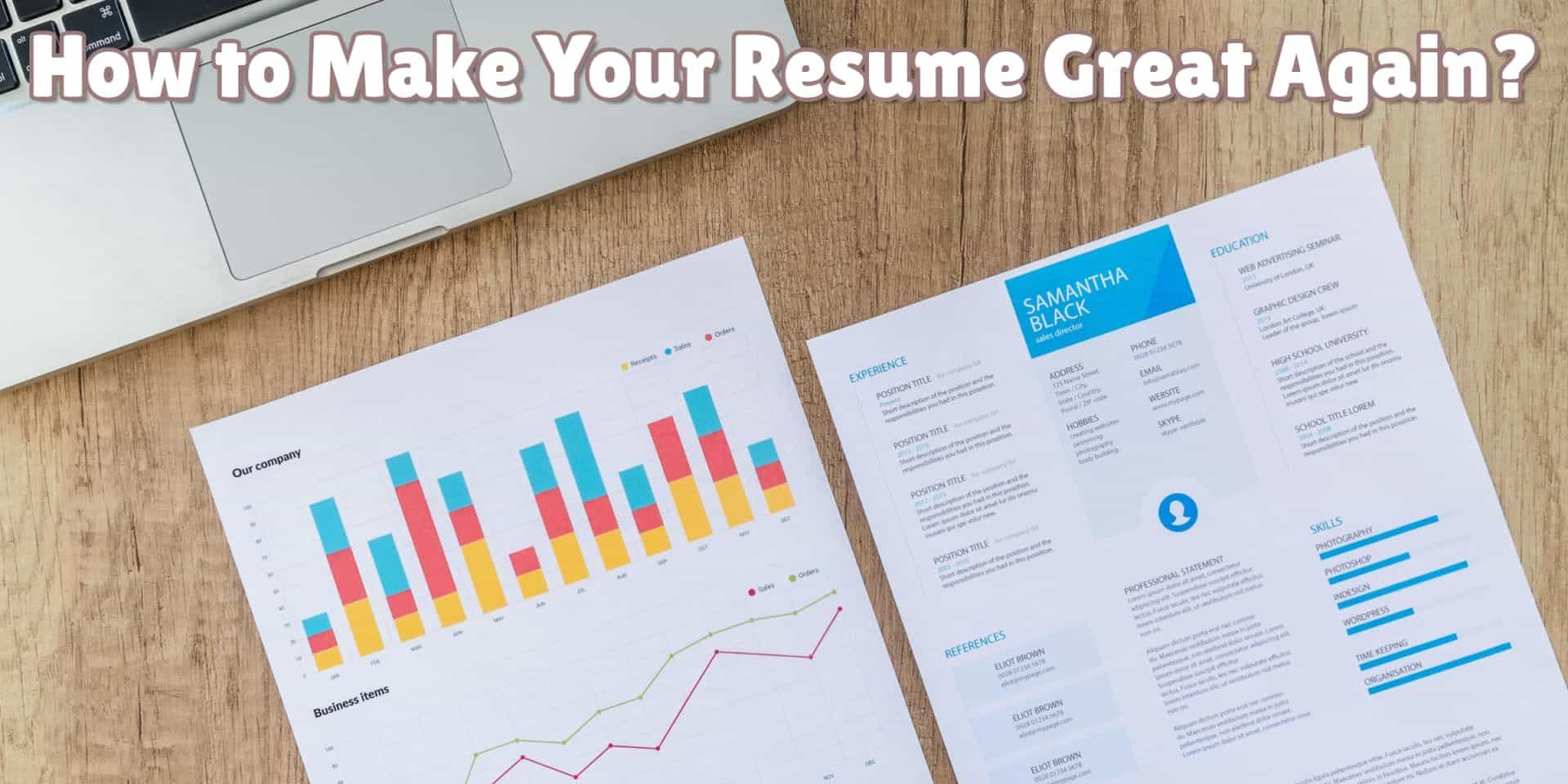 How to Make Your Resume Great Again Resume, Online