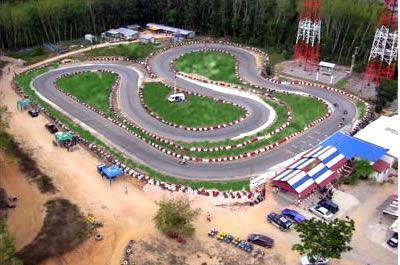 If you're a millionaire and you don't have a go kart track