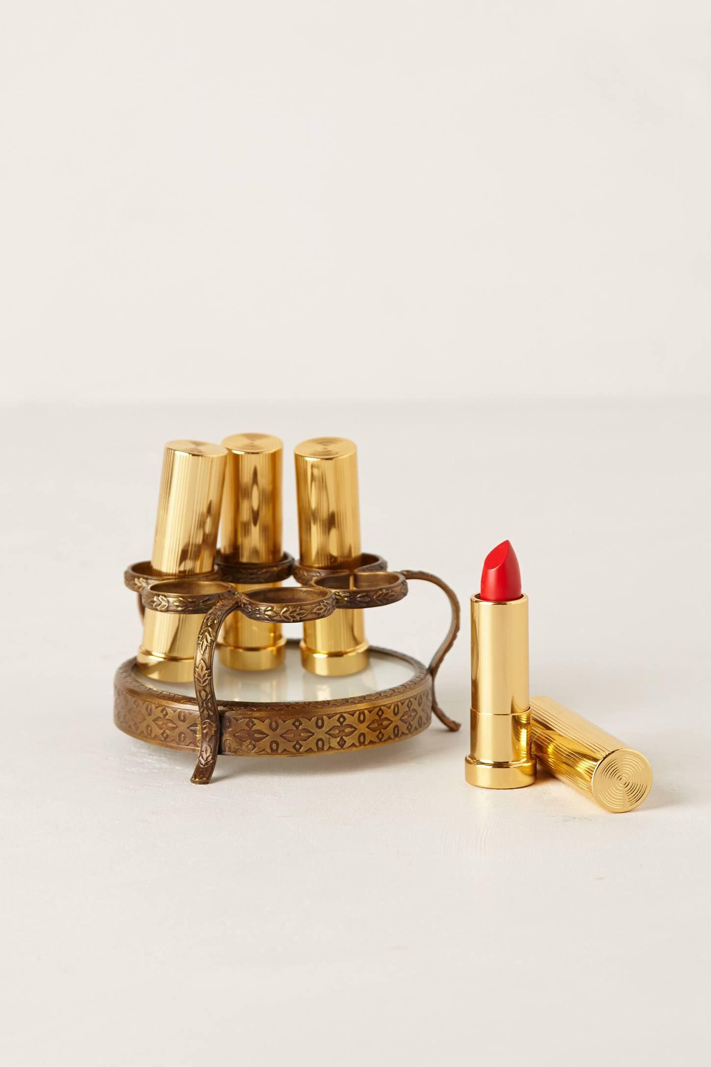 Round Vestige Lipstick Holder Lipstick holder, Lipstick