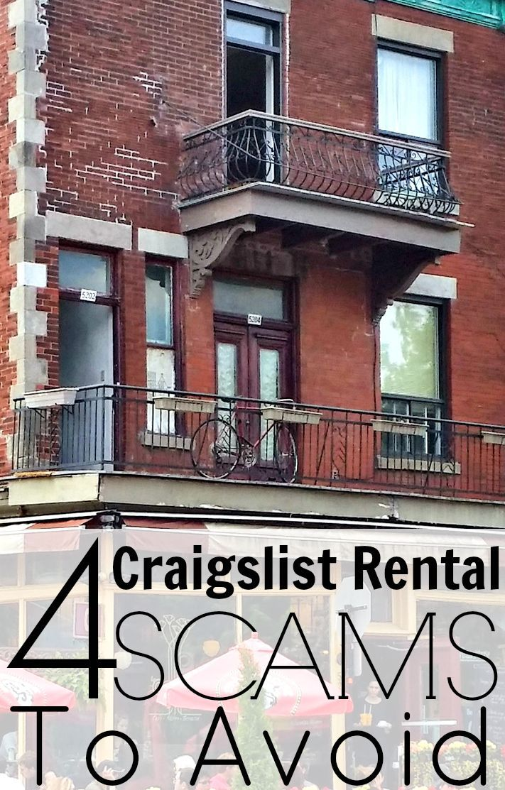 4 Craigslist Rental Scams To Avoid One bedroom apartment