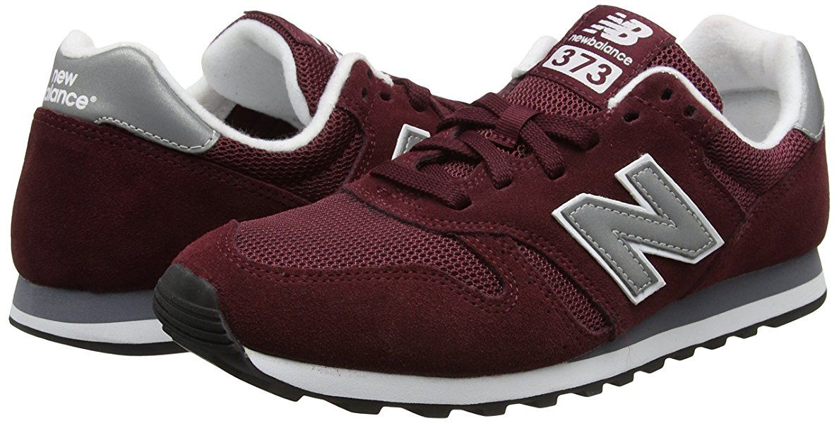 New Balance Herren Ml373 Sneaker Rot Burgundy Ml373 46 5 Eu Amazon De Schuhe Handtaschen Mens Fashion New Balance Sneaker Sneakers