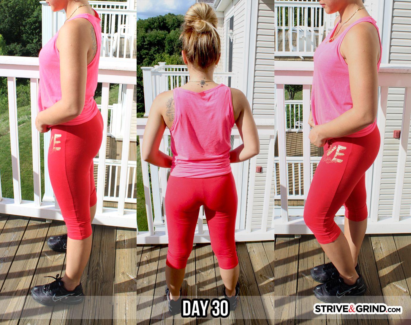 30 day squat challenge strive amp grind body rock