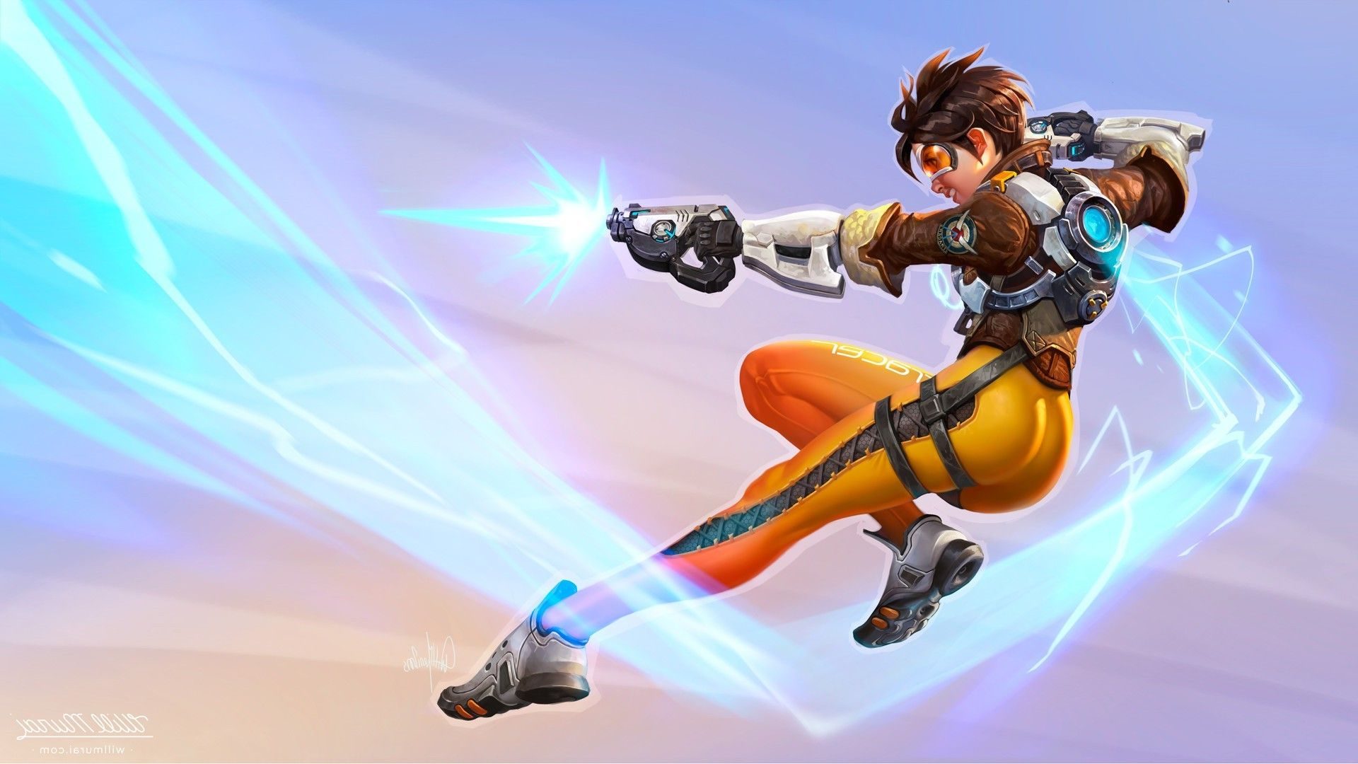 Tracer Overwatch Hd Wallpapers Backgrounds Wallpaper In 2019