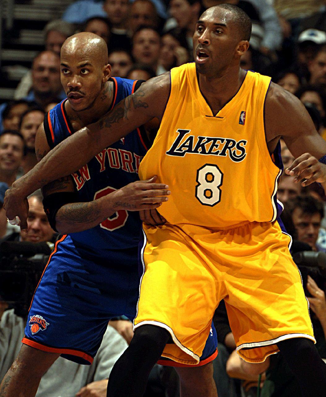 Stephon Marbury & Kobe Bryant Rare NBA s
