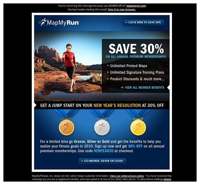 promotional email examples - Template