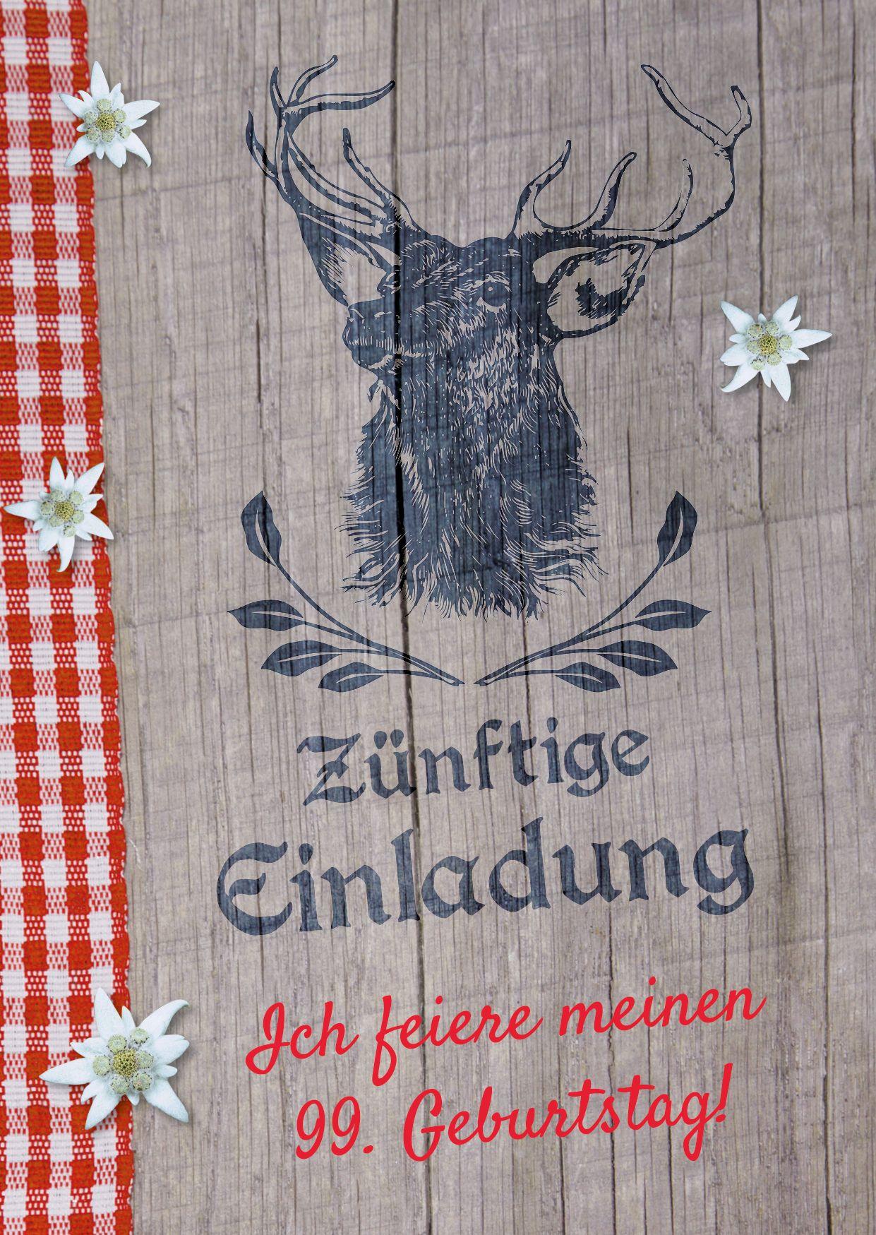 Einladungen Oktoberfest Frühschoppen Hüttengaudi Geburtstag Einladungskarten