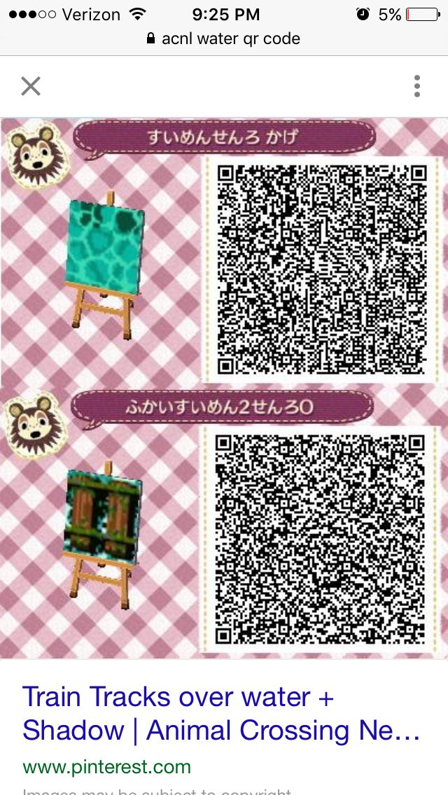 Spirited Away Train Track Qr Code Animal Crossing Animal Crossing Qr Animal Crossing 3ds