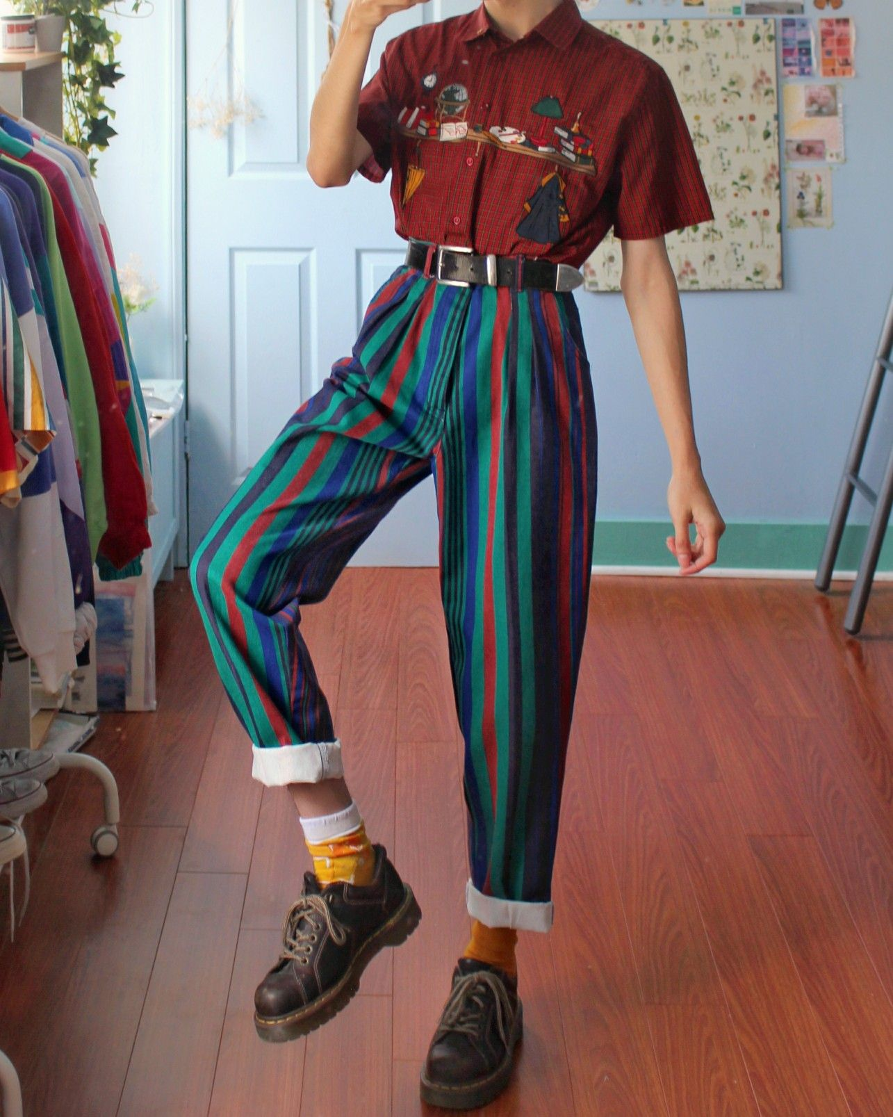 80er-jahre outfit ideen
