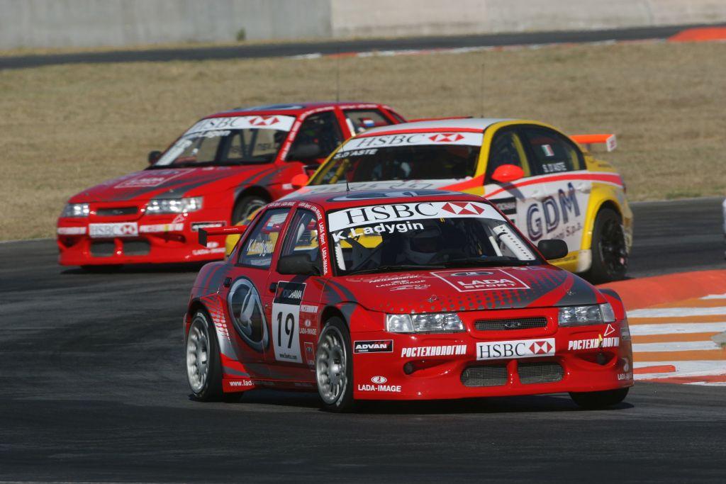 Lada 110 2008 WTCC Kirill Ladygin #motorsport #racing #touring #car #motor #passion #sport