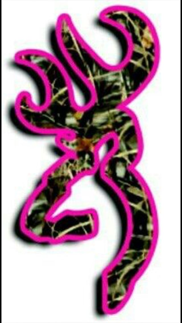 pink camouflage browning symbol all things cool