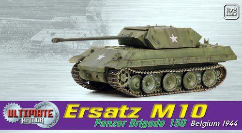 Pre-Built Model Spacecraft - Dragon Models Ersatz M10 Panzer