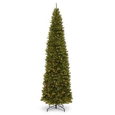 National Tree Artificial Christmas Tree Nrv7 358 120 12 Ft Pre Lit North Slim Artificial Christmas Trees Christmas Tree Clear Lights Artificial Christmas Tree