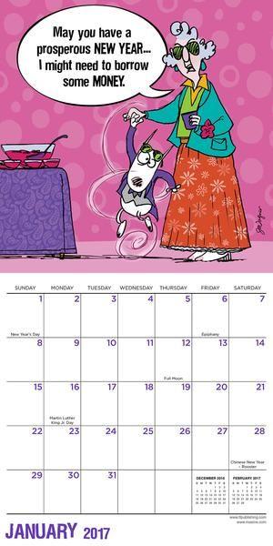 Maxine by Hallmark® Mini Calendar | Minis