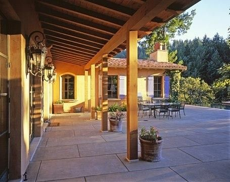 love the transition from covered to uncovered - no change ... on Uncovered Patio Ideas id=97842