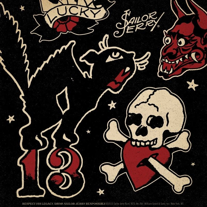 Pin by Troy Hayes on Death or Glory Sailor jerry, Sailor