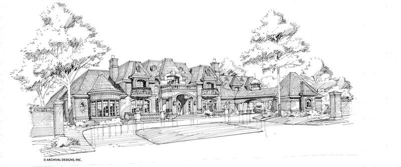 Bellerive House Plan House Plans Architect Design House Luxury House Plans