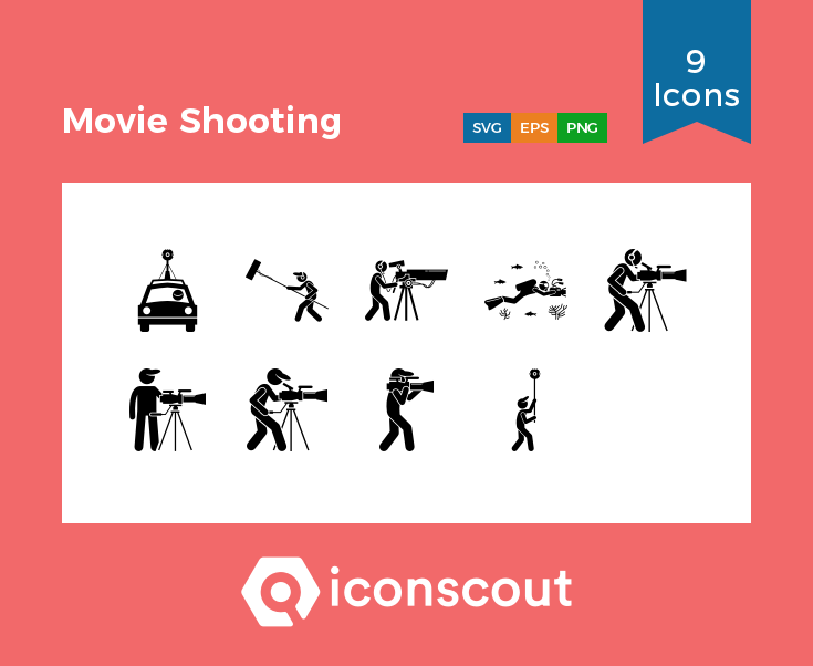 Download Download Movie Shooting Icon pack - Available in SVG, PNG ...