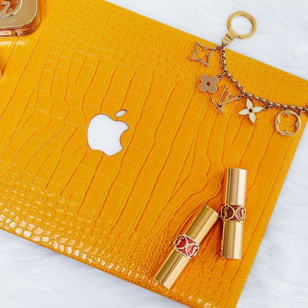 Canary Faux Crocodile MacBook Case (With images) Macbook