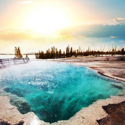 Mammoth Hot Springs - Yellowstone National  #DowhatyoulikeUSA