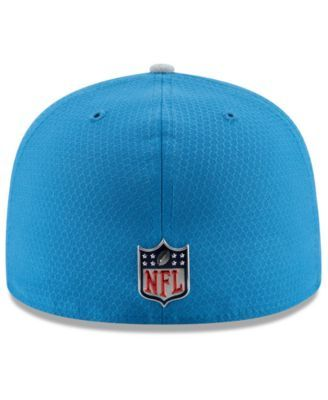 buy popular 504c6 122a5 New Era Boys  Detroit Lions Sideline 59FIFTY Fitted Cap - Blue 6 1 2